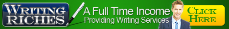 Writing Riches - make money writing for others